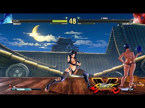 Download Street Fighter V Ae Chun Li Vs Menat Pc Mod Video 3GP Mp4
