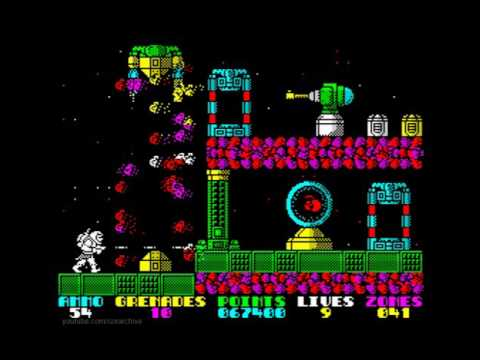 Exolon Walkthrough, ZX Spectrum