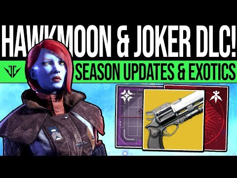Destiny 2 | JOKER WILD NEWS & HAWKMOON! Exotic Quests, Season 6 Update, New Content & Catalysts