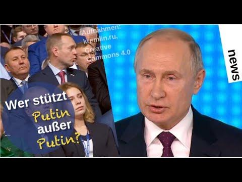 Wer stützt Putin außer Putin? [Video]