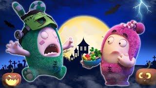 Oddbods | Strange Halloween Costumes | Funny Halloween Cartoons For Kids | Oddbods And Fri