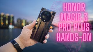 Honor Magic3 Pro+ Hands-On: Real World Test!