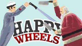 MURDERED BY SANTA CLAUS - Happy Wheels #34