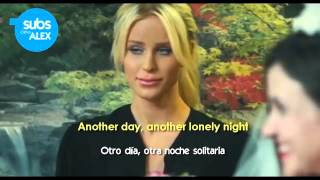 Adam Lambert - Another Lonely Night (LYRICS - Sub Español) Official Video