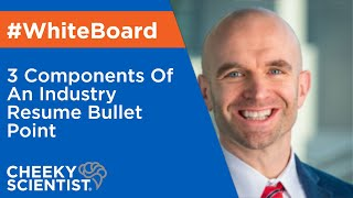 3 Components Of An Industry Resume Bullet Point