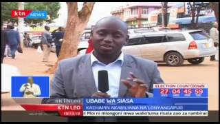 Mashindano kati ya gavana wa Pokot Simon Kachapin na seneta John Lonyangapuo yapamba