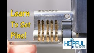 [211] How Lock Picking Works: Learn How To Identify Set Pins