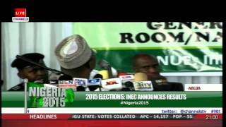 #Nigeria2015: Kano State Collation Officer Gives Detailed Report Of Election In The State