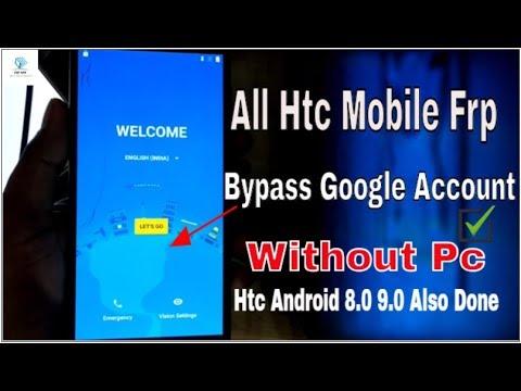 HTC Desire D728w 2019 google bypass frp reset 100 Eazy 100