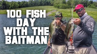 "We Caught 100 Bass with Kevin ""The Baitman"" Baxter"