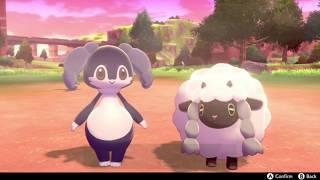Indeedee  - (Pokémon) - Wooloo & Indeedee are friends - Pokemon Sword & Shield