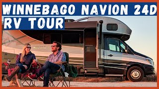 2019 Winnebago Navion 24D - Tour Our Home on Wheels!