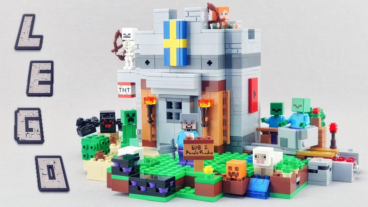 LEGO Minecraft Castle MOC