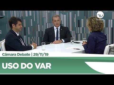 Deputados discutem uso do VAR