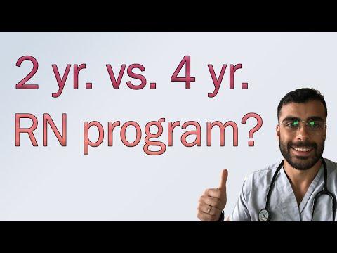 Nursing School Comparison 2 year vs 4 year RN program!