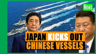 Japan kicks out Chinese vessels in East China Sea