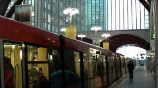 preview picture of video 'To Canary Wharf Station by DLR'
