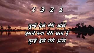 Tumhe Dekhe Meri Aankhen - Karaoke With Lyric   - YouTube