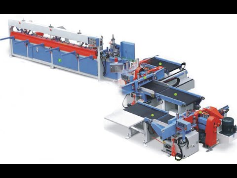 Automatic Finger Joint Making Machine