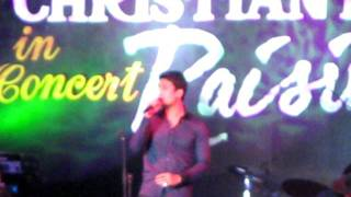 Tell Me Your Name by Christian Bautista at Raising Hope Concert in Subic Bay