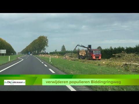 Eerste deel fietspad langs Biddingringweg iets sneller open dan gepland