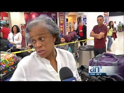 Caos en el aeropuerto de Miami en vuelos Charters a Cuba