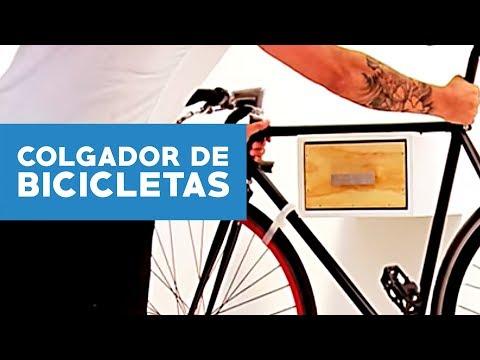 ¿Cómo hacer un colgador de bicicletas?