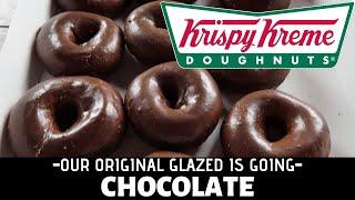 Krispy Kreme Original Chocolate Glazed Doughnuts