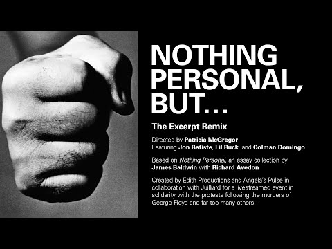 Nothing Personal, But… | The Director's Cut featuring Colman Domingo, Jon Batiste, and Lil Buck