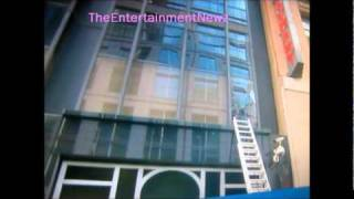 ( VIDEO ) CHRIS BROWN GOES CRAZY !!! THROWS CHAIR through GMA WINDOW !!!
