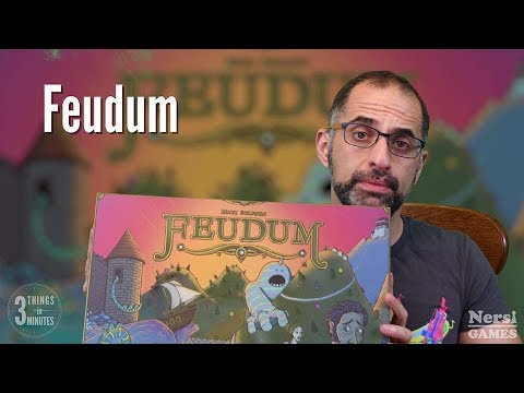 3 Things in 3 Minutes: Feudum Review