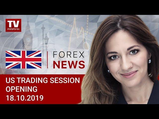 18.10.2019: USD falls prey to European bulls (USDХ, CAD, EUR, GBP)