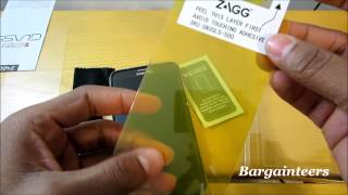 How to put on a Tempered Glass Screen Protector - Bargainteers