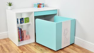 Modern DIY DESK And CHAIR ( For Kids )