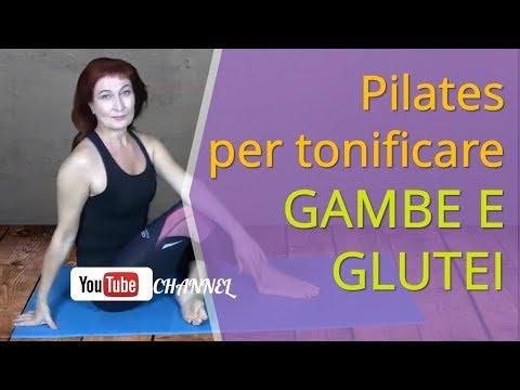 Pilates per tonificare gambe e glutei