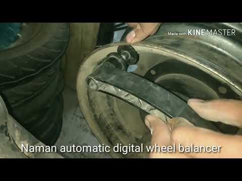 Automobile Wheel Balancer
