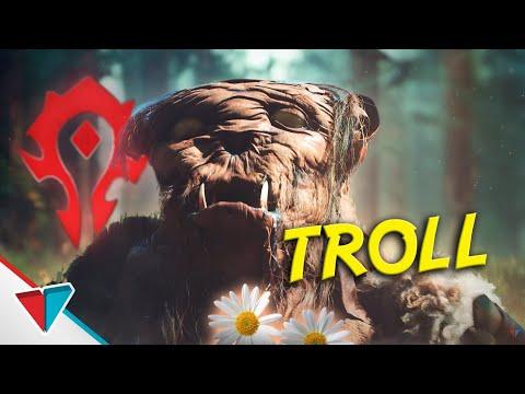 Troll - Epic Npc Man (When A Troll Enters Alliance Terratory In World of Warcraft)