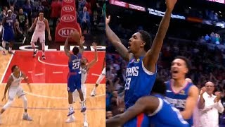 Lou Williams shocks entire Clippers crowd with a game-winning buzzer-beater | Clippers vs Nets