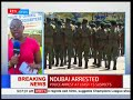 PS Lilian Omollo presents herself at DCI HQ after arrest of NYS DG Ndubai