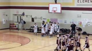 Alex's Last Middle School Basketball Game Intro
