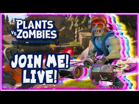 JOIN ME TEAM! Plants vs Zombies Battle for Neighborville!