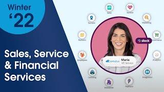 Salesforce Winter '22 Innovation Spotlight: Sales, Service, & Financial Services