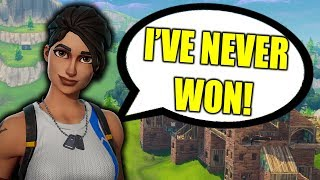 HE TRIED LYING TO ME IN FORTNITE BATTLE ROYALE!!!