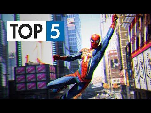 TOP 5 - Nejlepších Spider-Man her