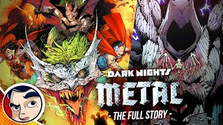 "Dark Nights DC Metal ""Dark Multiverse Batmen Invasion"" - Full Story   Comicstorian"