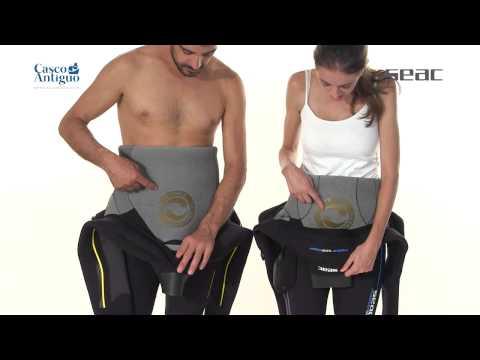 Traje Semiseco Seac Sub Master Dry - www.cascoantiguo.com