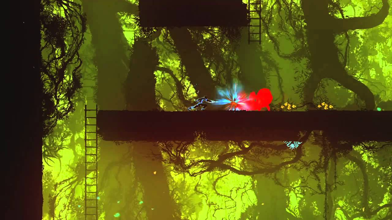 Video Proof That Outland Is The Child Of Ikaruga And A Platformer
