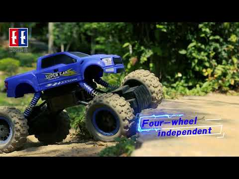 1/12 SCALE ROCK CRAWLER RC CAR 4x4 OFF ROAD MONSTER TRUCK FOR KIDS