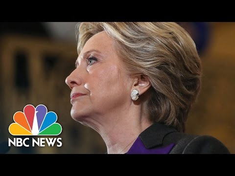 Hillary Clinton's Full Concession Speech | NBC News