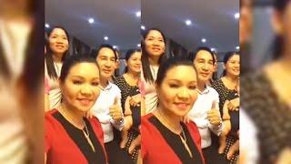 Nghệ sĩ Ngọc Huyền ghé thăm nhà vợ chồng Kim Tử Long, Trinh Trinh siêu vui